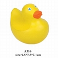 promotional cheap animal shaped stress ball toy 3