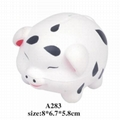 promotional cheap animal shaped stress ball toy 5