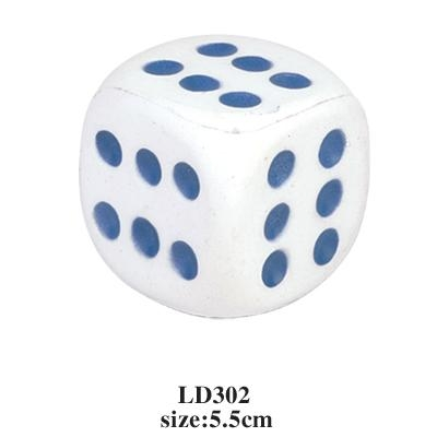 promotional cheap dice stress toy 3