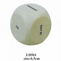 promotional cheap dice stress toy 2