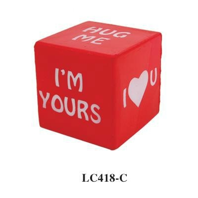 promotional cheap cube stress toy 1