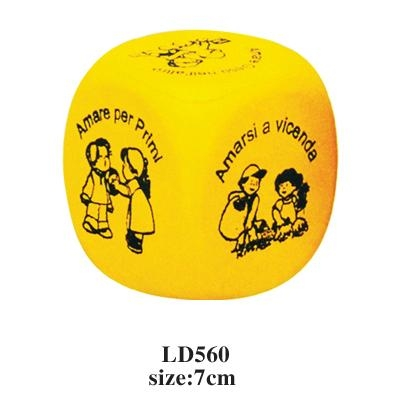 promotional cheap cube stress toy 4