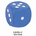 promotional cheap cube stress toy 5