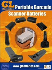 Portable Barcode Scanner Batteries - Made in Taiwan