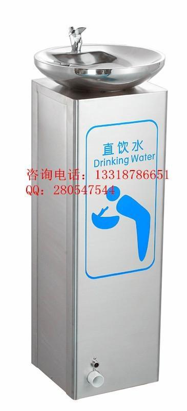 按下龍頭即可飲水的廣場直飲水機 2
