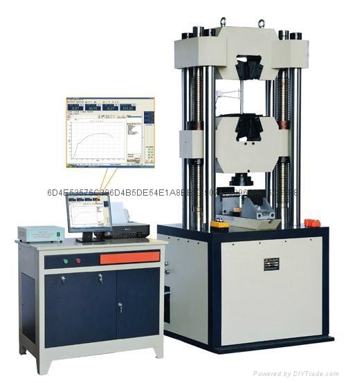 WAW-1000D金属材料拉力试验机 1