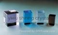 k9 blank crystal glass block for laser