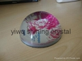 crystal glass paperweight for office