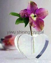 home decoration crystal glass flower vase 1