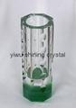 home decoration crystal glass flower vase 3