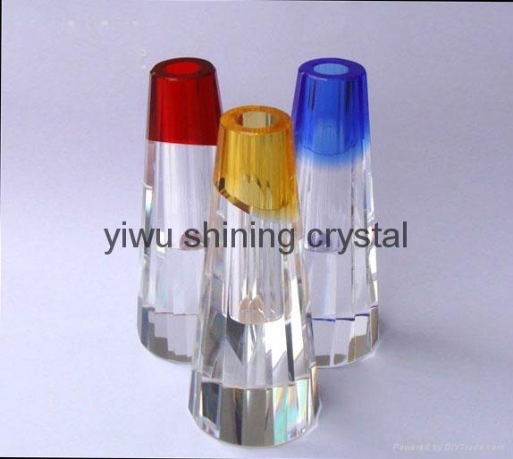home decoration crystal glass flower vase 4