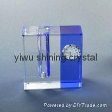 home decoration crystal glass flower vase 5