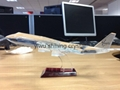 3D crystal glass building model car