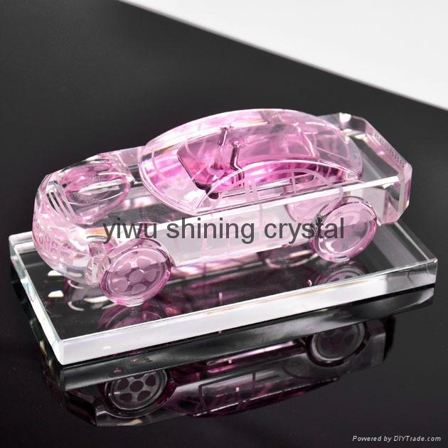 crystal glass car perfume bottle for women gifts 2