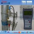 Portable ultrasonic water flow meter