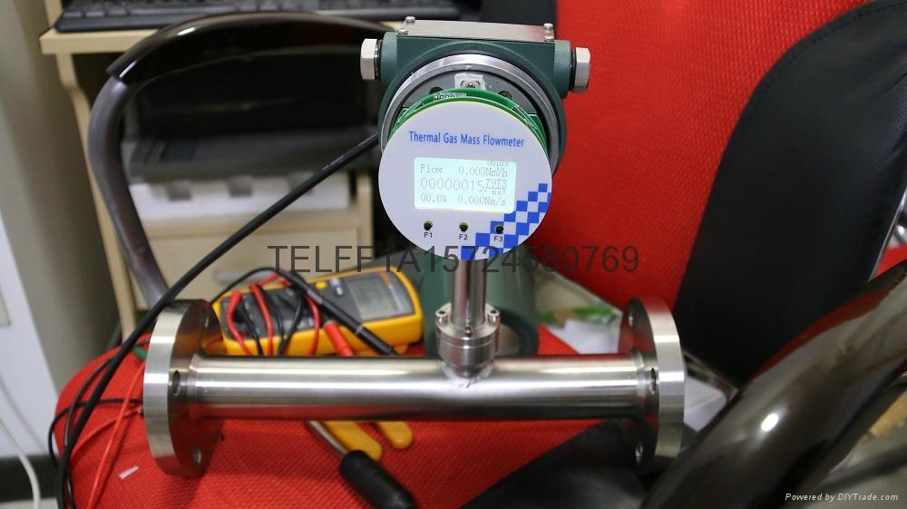 Thermal mass air flow meter 2