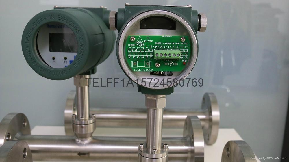 Thermal mass air flow meter 3