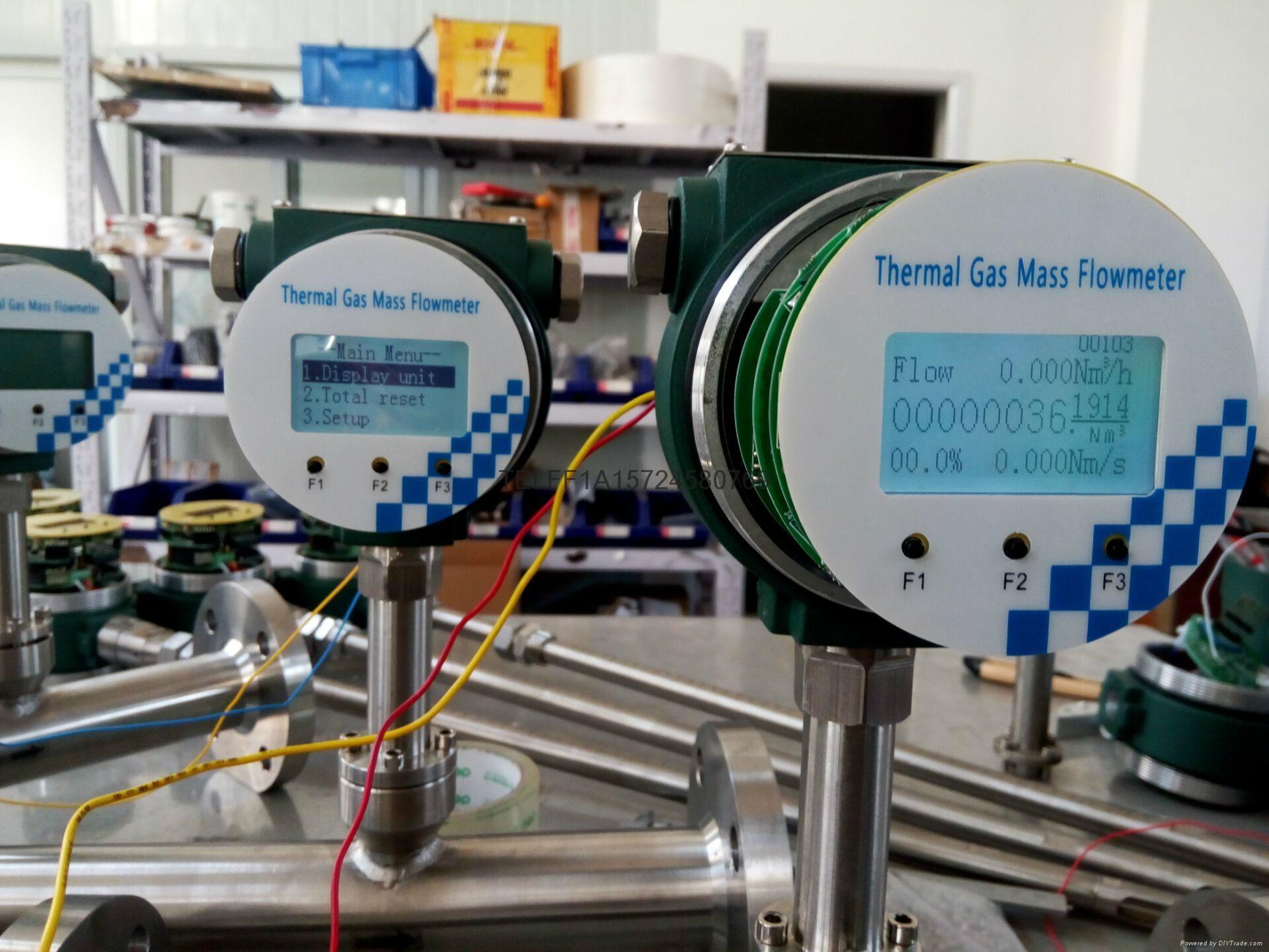 Thermal mass air flow meter 4