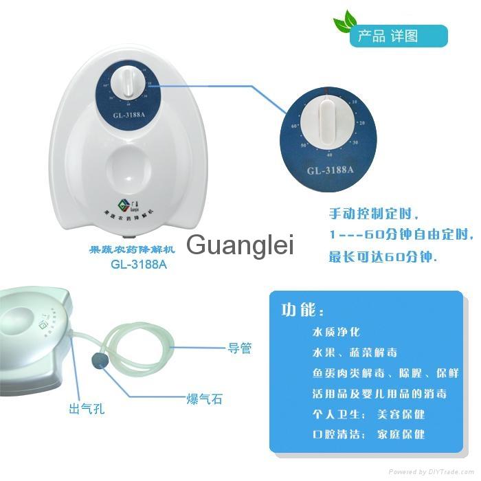 果蔬消毒空氣淨化機 GL-3188A 5