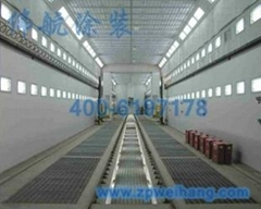 ISO9001 Industrial Large Spray Booth for