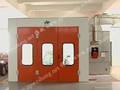 ISO Approved 2015 New Luxury Diesel Oil (Electric) Heating Paint Spray Booth