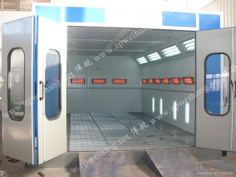 Car Spray Oven, Car Spray Booth, Electric Heating Car Painting Room 1