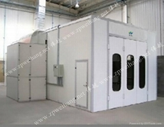 Electrical Heating Automobile Paint Spray Booth Luxury Type made in china