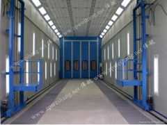 Industrial Large Spray Booth for Sale
