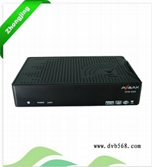 DOBLY AC3+USB+PVR+HD1080P+CA SLOT+ETHERNETSHARING tv top box DVB-S AZmax s3s