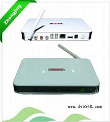 ANDROID IPTV dvb-s LGR V8