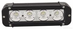 Rigid 40W single row spot LED light bar off road light