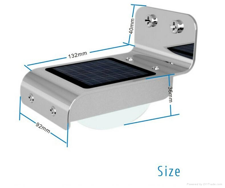 wholesale solar emergency light rechargeable led seucritylight 2