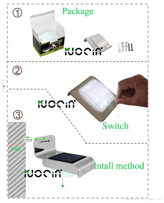 wholesale solar emergency light rechargeable led seucritylight 3