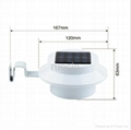 wholesale outdoor solar fence lamp square waterproof china panel led light 2