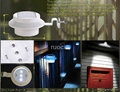 wholesale outdoor solar fence lamp square waterproof china panel led light 5