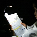 new design Light reading Lamp reading light for book light 1