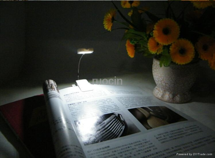new design Light reading Lamp reading light for book light 5