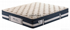 OMB-FP38 2014 Newest box top luxury pocket spring Mable Memory Foam mattress