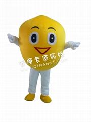 檸檬卡通人偶服裝
