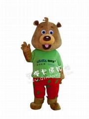 熊卡通動漫服裝