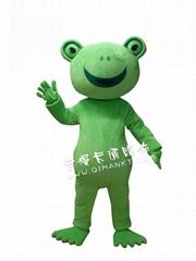 綠青蛙卡通動漫服裝