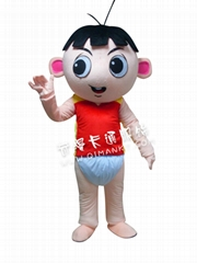小龍卡通人偶服裝