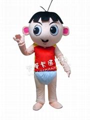小龙卡通人偶服装