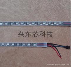 全彩LED软灯带1米60灯防水滴胶
