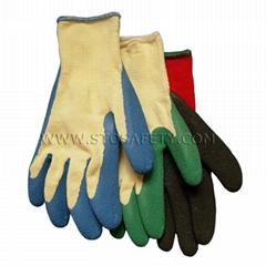 latex coated garden gloves