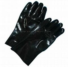 gauntlet neoprene coated gloves