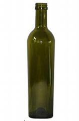 Dark Green Glass Wine Bottle (PT500-1315)
