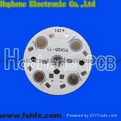 round HASL aluminum LED PCB board dia.5cm