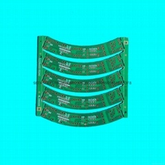 green LED CEM-1 PCB board
