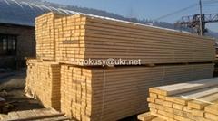 Spruce lumber board